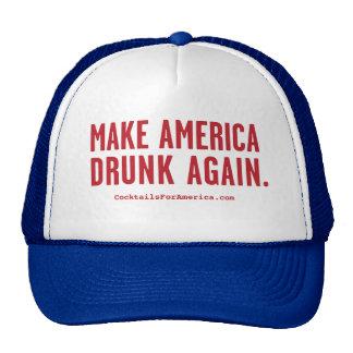 Haga América bebida otra vez Gorro De Camionero