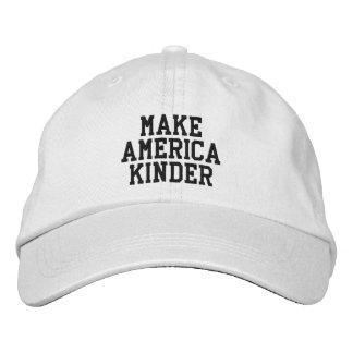 """Haga América"" un gorra más bueno Gorras Bordadas"