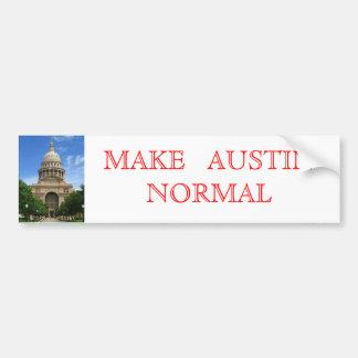 Haga Austin normal Pegatina Para Auto