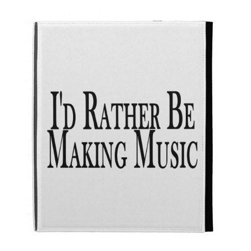 Haga bastante la música