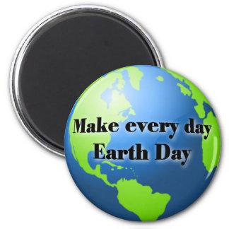 Haga cada imán del Día de la Tierra del día