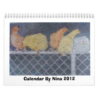 Haga calendarios por Nina 2012