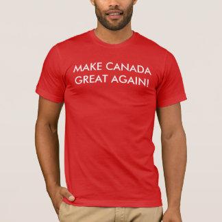 ¡Haga Canadá grande otra vez! Playera