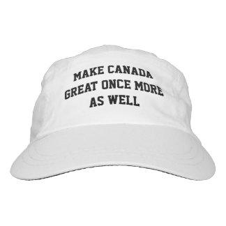 Haga Canadá grande una vez más también Gorra De Alto Rendimiento