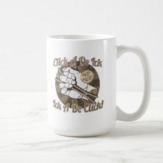 Haga clic a un De Bones Brown Taza De Café
