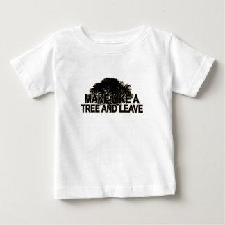 Haga como un árbol T-Shirt.png oscuro Camiseta