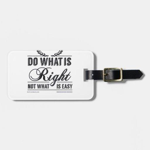 haga cuál correcto no cuál es fácil etiquetas para maletas
