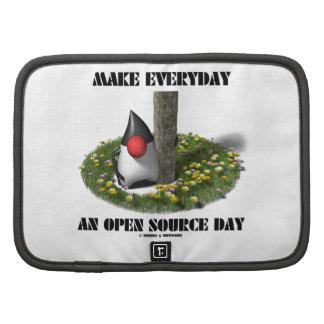 Haga diario un día de Open Source el duque de Jav Planificadores