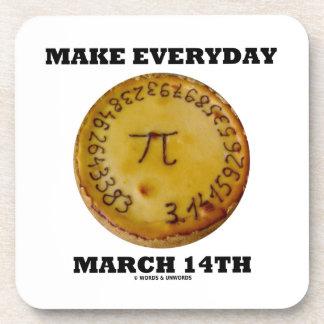 Haga el 14 de marzo diario (el humor de la posavaso