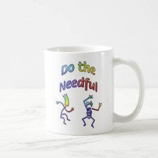 Haga el #3 necesario taza básica blanca
