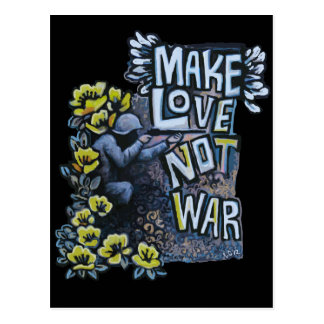 Haga el amor, no guerra: Productos de la Postales