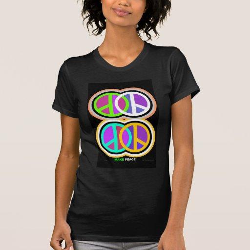 HAGA el arte de la PAZ Camisas