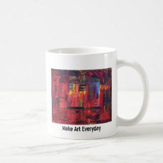 Haga el arte diario taza