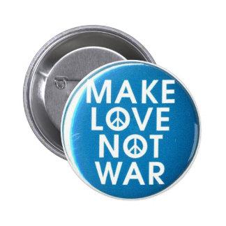 haga el botón de la guerra del amor no pin