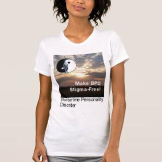 """""""Haga el BPD Estigma-Libre!"""" Camiseta del paisaje"""