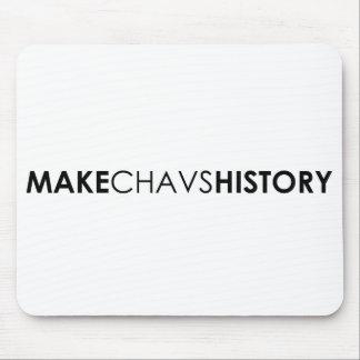Haga el cojín de ratón de la historia de Chavs Tapete De Ratones