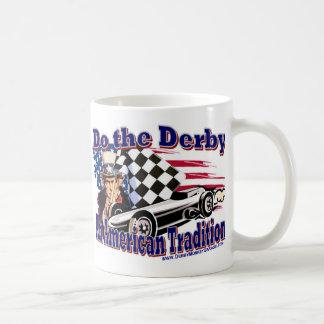 Haga el Derby Taza Básica Blanca