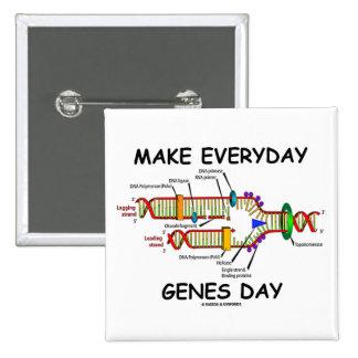 Haga el día diario de los genes (el día de los vaq pin
