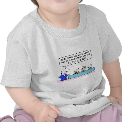 ¡haga el dinero que la vieja manera fashoned camiseta