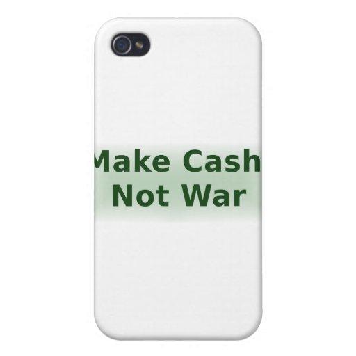 Haga el efectivo, no guerra - 2 iPhone 4 coberturas