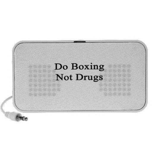 Haga el encajonamiento no de las drogas altavoz de viaje