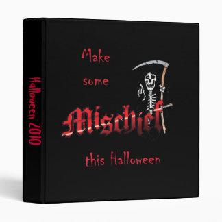 Haga el esqueleto de Halloween de la travesura