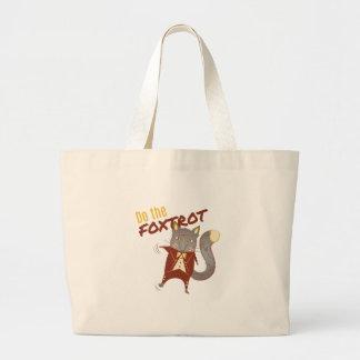 Haga el Foxtrot Bolsa Tela Grande