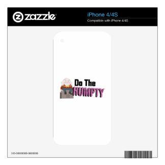 Haga el Humpty Skin Para El iPhone 4S
