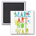 haga el imán de la guerra del arte no
