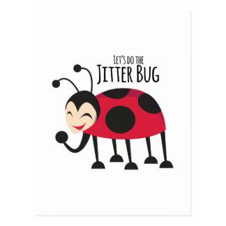 Haga el insecto de la inquietud postales