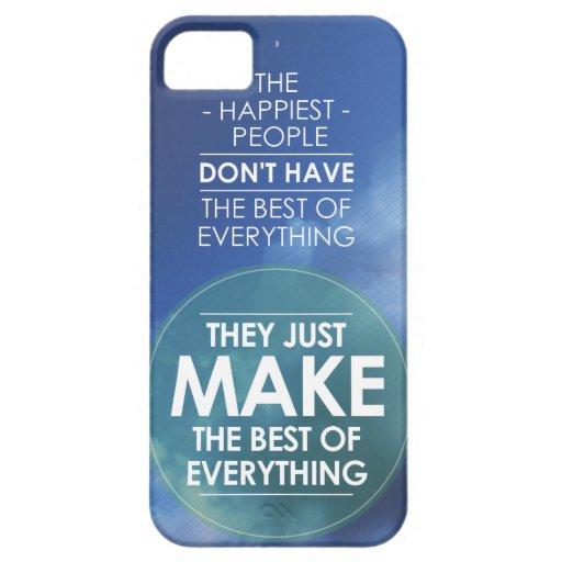 Haga el mejor todo la cita iPhone 5 carcasas
