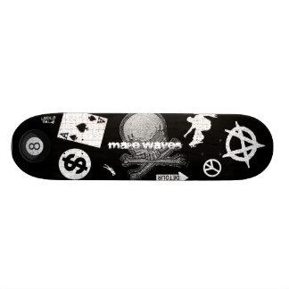 Haga el monopatín del mensajero de las ondas patines personalizados
