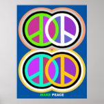 Haga el poster amkepeaceart.com de la paz