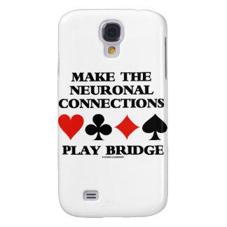Haga el puente del juego de las conexiones funda para galaxy s4