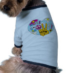 Haga el signo de la paz del Hippie del ~ 60s de la Camisetas De Perrito