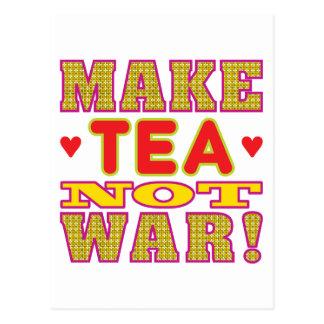 Haga el té postales