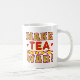 Haga el té taza de café