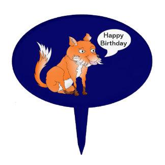 Haga el zorro dicen lo que usted quiere palillos de tarta