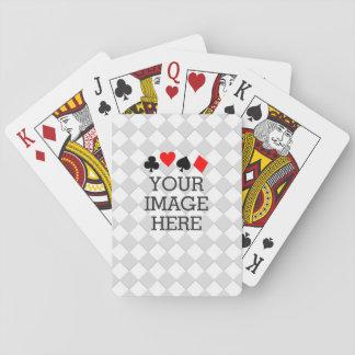 Haga fácilmente que sus los propios en un paso se barajas de cartas