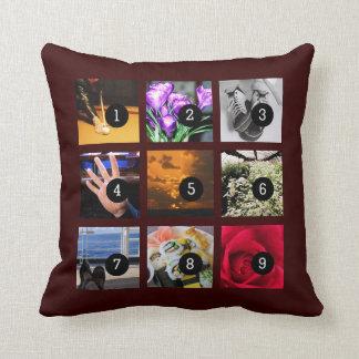 ¡Haga fácilmente su propia almohada de la foto con