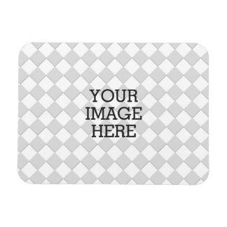 Haga fácilmente su propia exhibición de la foto en imanes rectangulares