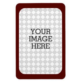 Haga fácilmente su propia exhibición de la foto en rectangle magnet