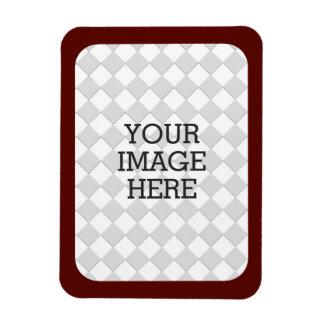 Haga fácilmente su propio marco de Borgoña de la Iman Flexible