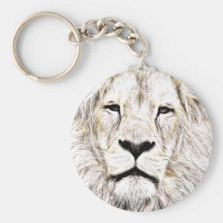 Haga frente a la cara Löwen-Gesicht Face de Lion Llaveros