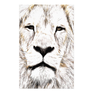 Haga frente a la cara Löwen-Gesicht Face de Lion Papeleria