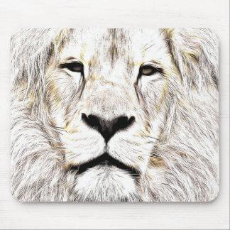Haga frente a la cara Löwen-Gesicht Face de Lion Tapete De Ratones