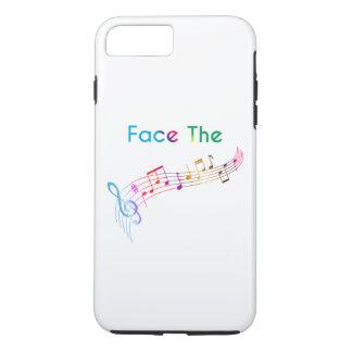 Haga frente a la música funda iPhone 7 plus