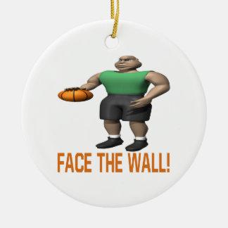 Haga frente a la pared ornamento de reyes magos