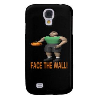 Haga frente a la pared funda samsung s4