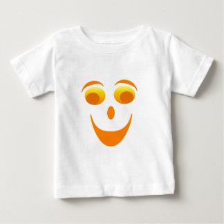 Haga frente a los ojos Googly - naranja, colores Playera